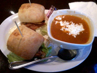 Wixans Chicken Club w/Garden Tomato Soup