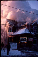 Fire at the Christian Book Store